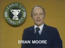ITV League Cup Final 1977 - Brian Moore