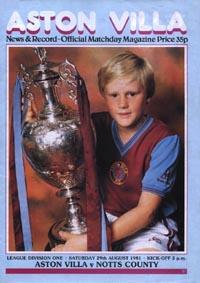 Aston Villa 1981/82