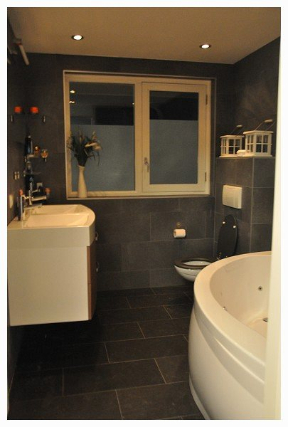 Badkamer Bruin Wit Pictures to pin on Pinterest