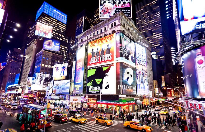 Las ciudades más fotografiadas del mundo y de España. Nuevayork