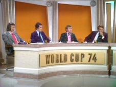 ITV panel World Cup 1974