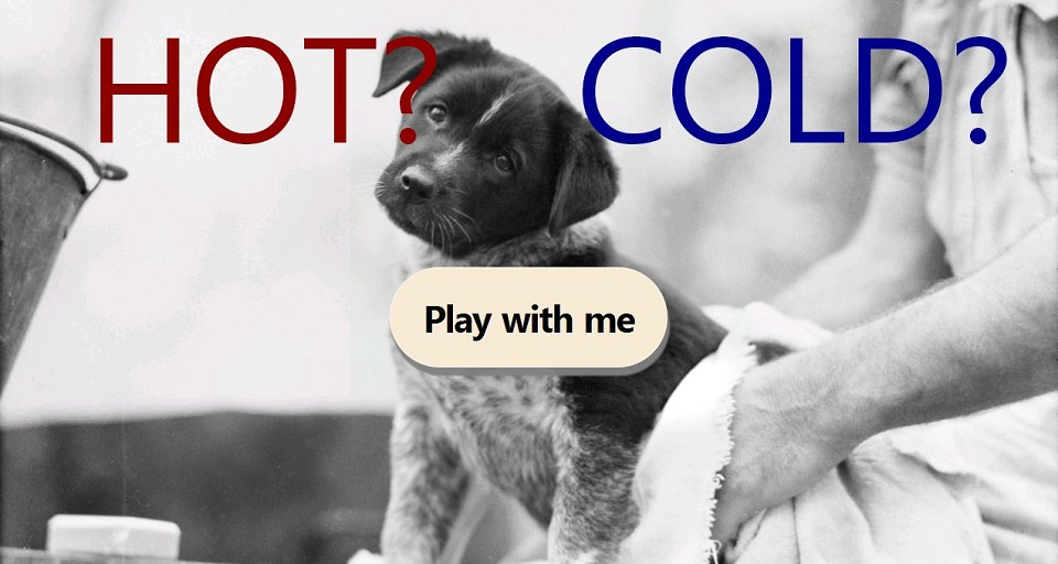 Hot or Cold app