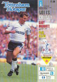 Tottenham Hotspur 1990/91