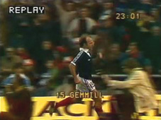 Archie Gemmill scores for Scotland v Holland