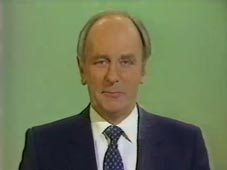 Brian Moore hosting the 02/Feb/1983 edition of Midweek Sport Special