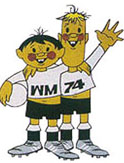 1974 World Cup mascots Tip & Tap