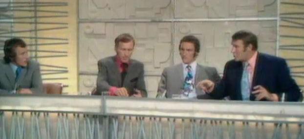 1970 ITV World Cup panel