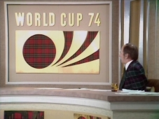 ITV World Cup studio 1974
