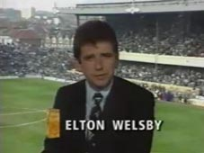 Elton Welsby ITV The Match 1989
