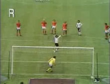 Breitner Scores - World Cup Final 1974