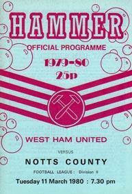 West Ham 1979/80