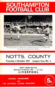 Southampton 1972/73