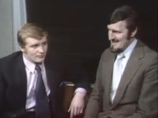ITV League Cup Final 1970 - Francis Lee and Jimmy Hill
