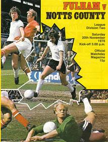 Fulham 1976/77