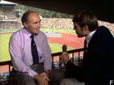 Alf Ramsey and Gary Newbon - ITV World Cup 1974