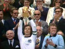 Franz Beckenbauer Lifts 1974 World Cup For West Germany