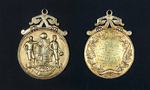 FA Cup winners medal 1894 - Notts County