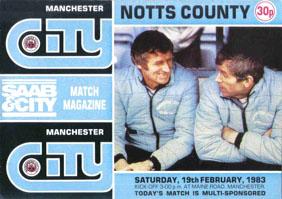 Manchester City 1982/83