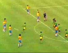 The Brazil v Zaire free-kick incident, 1974