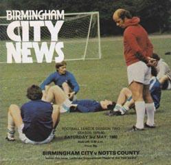Birmingham City 1979/80